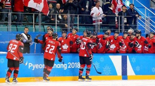 ОИ-2018. Хоккей, полуфинал. Канада – Германия. Прогноз на матч 23.02.2018
