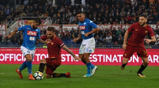 Италия, Серия А. Наполи – Рома. Прогноз на матч 03.02.2018