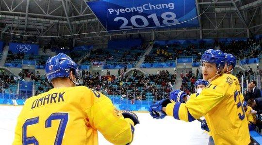 Олимпиада 2018. Хоккей. Швеция – Финляндия. Прогноз на матч 18.02.2018