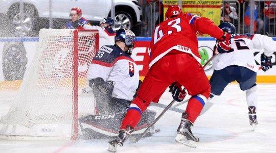 ЧМ 2018 по хоккею. Россия  – Словакия. Прогноз на матч 14.05.2018