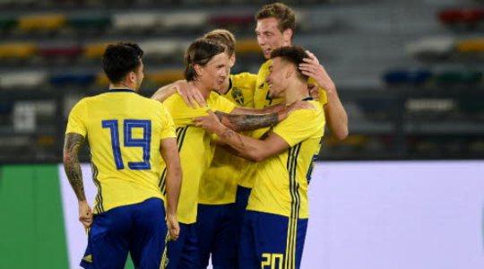 Товарищеские игры. Швеция – Дания. Прогноз на матч 02.06.2018